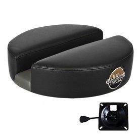 "Carmichael CT200NR-15BV-Black Vinyl (15"" Dia Seat Top with 1"" Dia Hydraulic Seat Mount)"