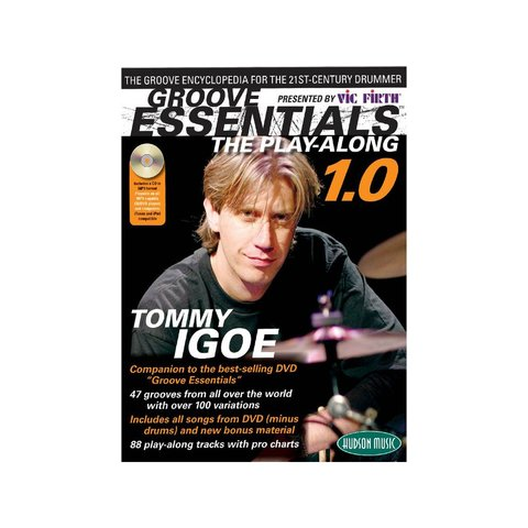 Groove Essentials - The Play-Along by Tommy Igoe; Book & CD