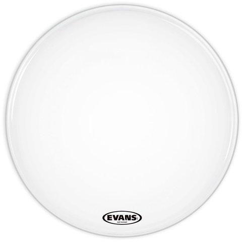 """Evans EQ3 Resonant Smooth White 22"""" No Port Bass Drumhead"""