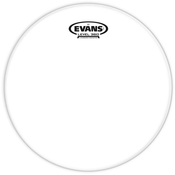 """Evans Evans Genera G1 Clear 12"""" Tom Drumhead"""