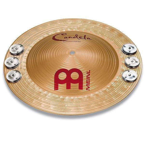 """Meinl Meinl14"""" Percussion Jingle Bell"""