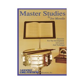 Hal Leonard Master Studies Vol. 1 by Joe Morello; Book
