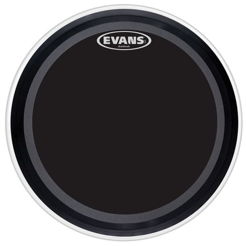 """Evans EMAD Onyx 22"""" Bass Drumhead"""