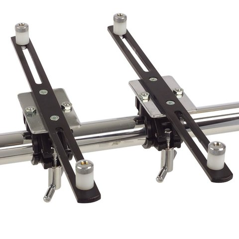 Gibraltar Electronic Mounting Arm Clamps Pair