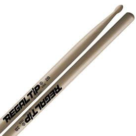 Regal Tip Regal Tip Classic Hickory Wood Tip 2B Drumsticks