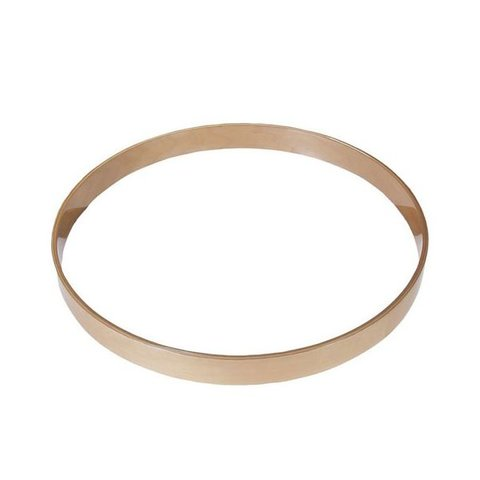 Gibraltar 22 Maple Bass Drum Hoop Natural