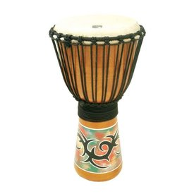 Toca Toca 8 Synergy Vryheid Hand Painted Rope Tuned Djembe