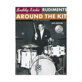 Hal Leonard Buddy Rich's Rudiments Around The Kit by Ted MacKenzie; Book & DVD
