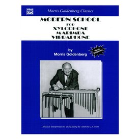 Alfred Publishing Modern School for Xylophone, Marimba, and Vibraphone by Morris Goldenberg; Book