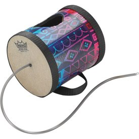 Remo Remo Spring Drum 5x5 - Rainbow Fabric