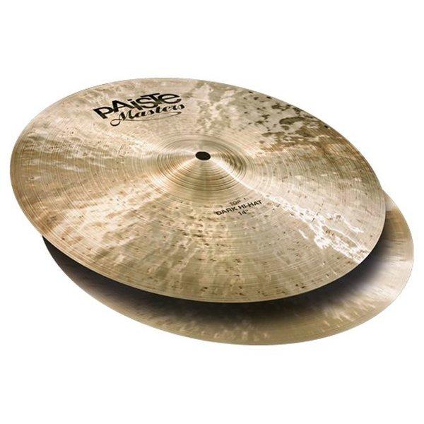 "Paiste Paiste Masters 14"" Dark Hi Hat Cymbals"