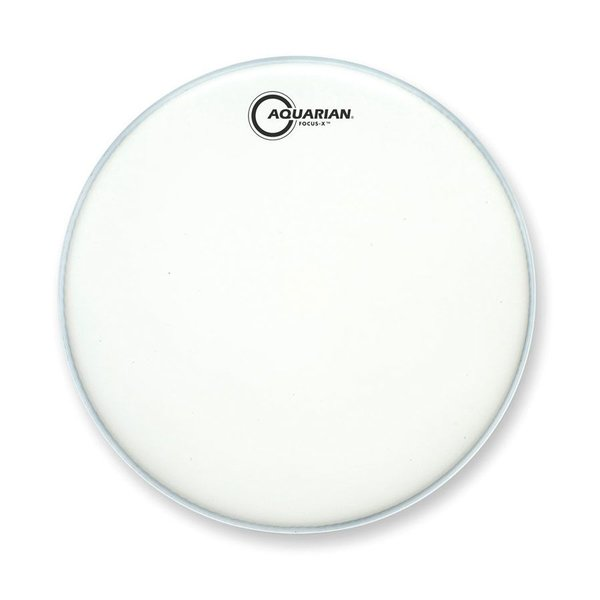 "Aquarian Aquarian Focus-X Texture Coated 12"" Drumhead - White"