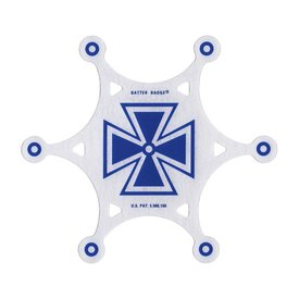 Slug Slug Batter Badge Armourphragm Vented Impact Pad; Blue Baron Graphic