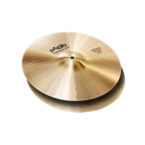 "Paiste Formula 602 14"" Medium Hi Hat Cymbals"