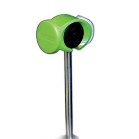 Slug Slug Power Head Junior Bass Drum Beater; Green Beater; Steel Tapered Short Shaft