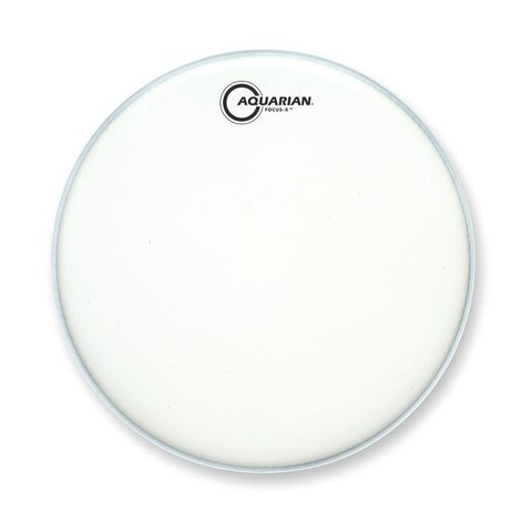 """Aquarian Focus-X Texture Coated 15"""" Drumhead with Reverse Pad"""