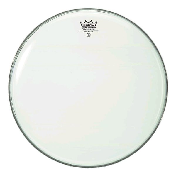 "Remo Remo Smooth White Ambassador 15"" Diameter Batter Drumhead"