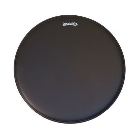 "Aquarian Jack DeJohnette Thick Coated 22"" Drumhead - Black"