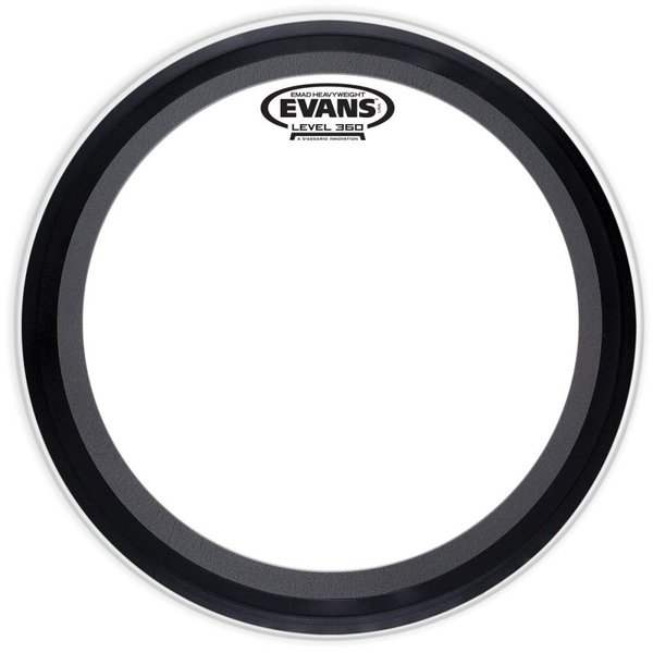 "Evans Evans EMAD Heavyweight 18"" Bass Batter Drumhead"