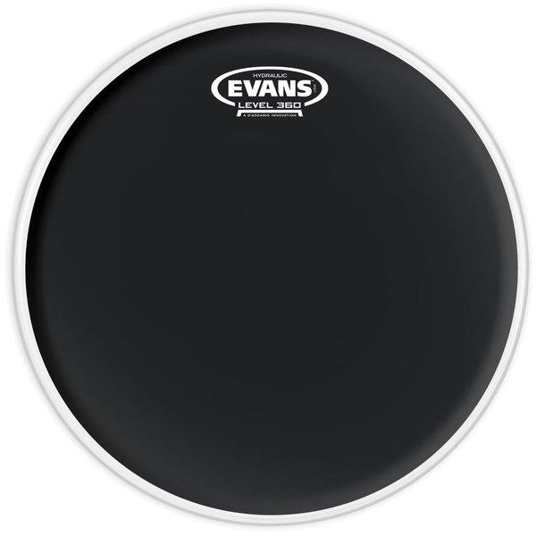 """Evans Evans Hydraulic Black 16"""" Tom Drumhead"""