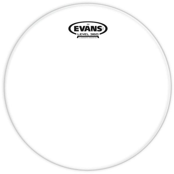 """Evans Evans Genera G2 Clear 15"""" Tom Drumhead"""