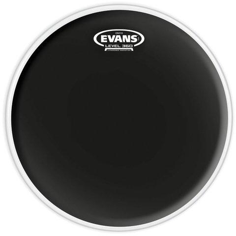 """Evans Onyx Coated 12"""" (2-Ply) Drumhead"""