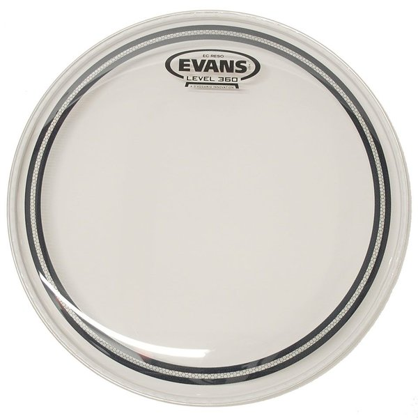 "Evans Evans EC Resonant Clear 8"" Tom Drumhead"