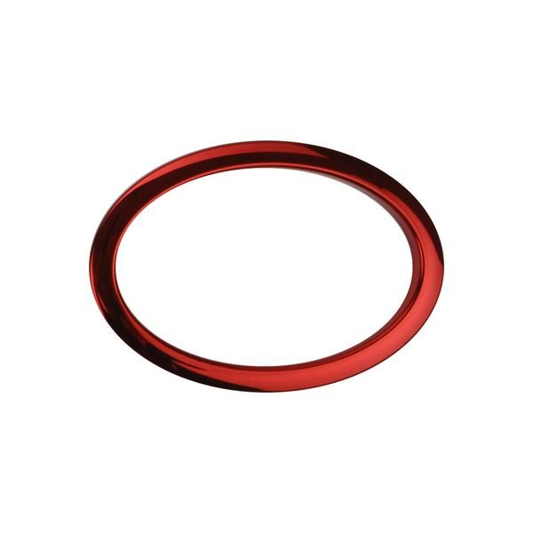 """Bass Drum O's Bass Drum O's 6"""" Red Oval"""