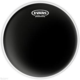 "Evans Evans Black Chrome 8"" Batter Tom Drumhead"