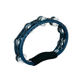 Meinl Meinl ABS Hand Held Tambourine Aluminum Jingles, Blue