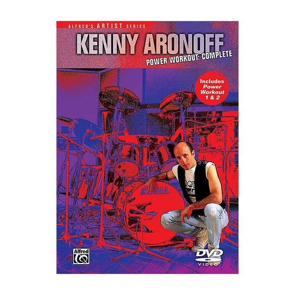 Alfred Publishing Kenny Aronoff: Power Workout Complete DVD