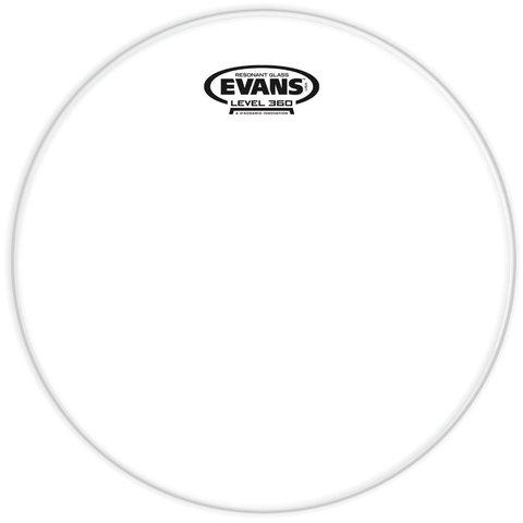 """Evans Resonant Glass 16"""" Tom Drumhead"""