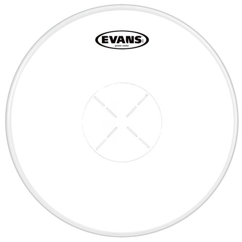 """Evans Power Center Coated 13"""" Drumhead"""