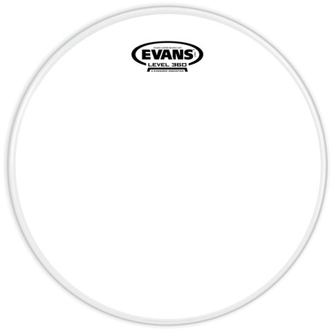"Evans Power Center Reverse Dot Coated 13"" Drumhead"