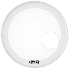 "Evans Evans EQ3 Resonant Smooth White 18"" Bass Drumhead"