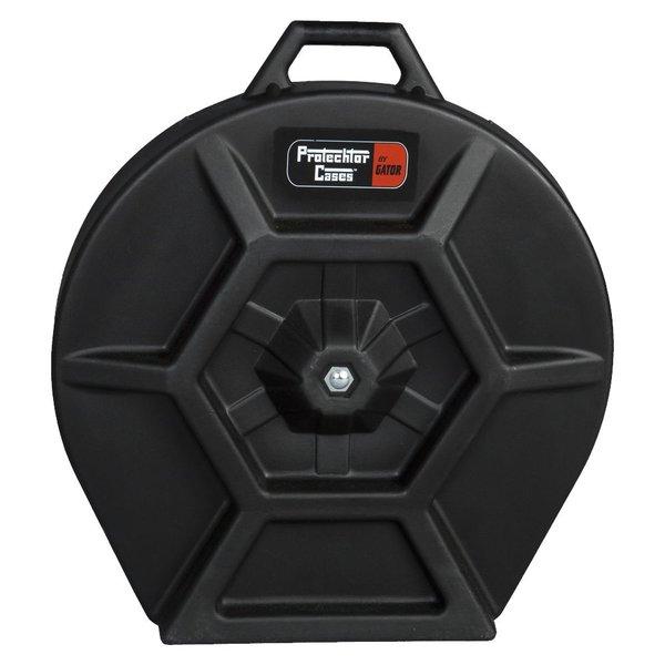 Gator Gator Cymbal Case; Elite Air Series Molded PE; w/ Handle & Wheels