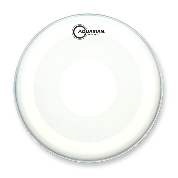 "Aquarian Aquarian Studio-X Series Texture Coated 10"" Drumhead with Power Dot Underside"