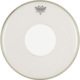 """Remo Remo Clear Controlled Sound 10"""" Diameter Batter Drumhead - White Dot on Top"""