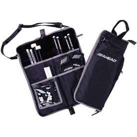 Ahead Ahead Deluxe Stick Bag (Black with Gray Trim, Plush interior)