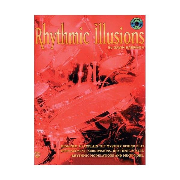 Alfred Publishing Rhythmic Illusions by Gavin Harrison; Book & CD