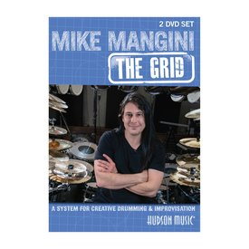 Hal Leonard Mike Mangini :The Grid for Creative Drumming DVD