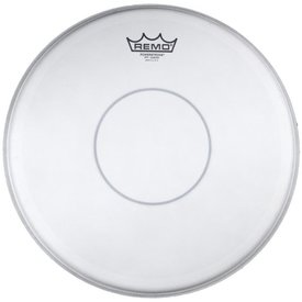 """Remo Remo Coated Powerstroke 77 12"""" Diameter Batter Drumhead - Clear Dot"""