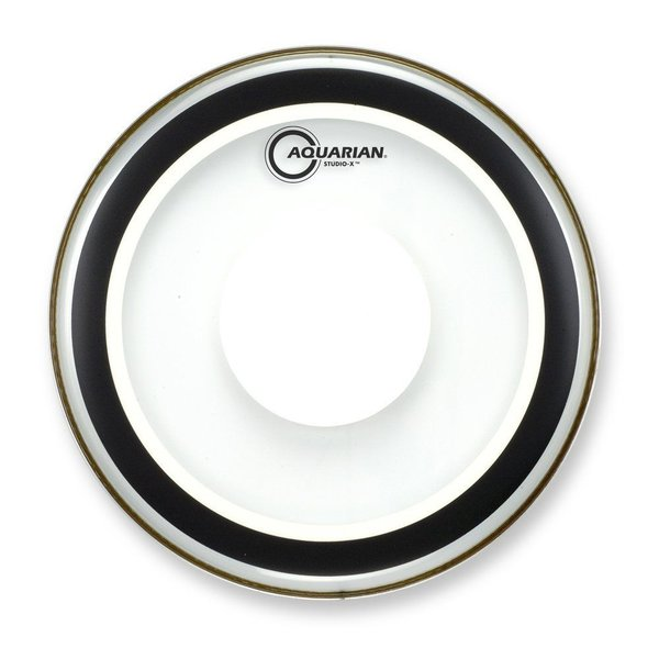 "Aquarian Aquarian Studio-X Series 8"" Drumhead with Pad"