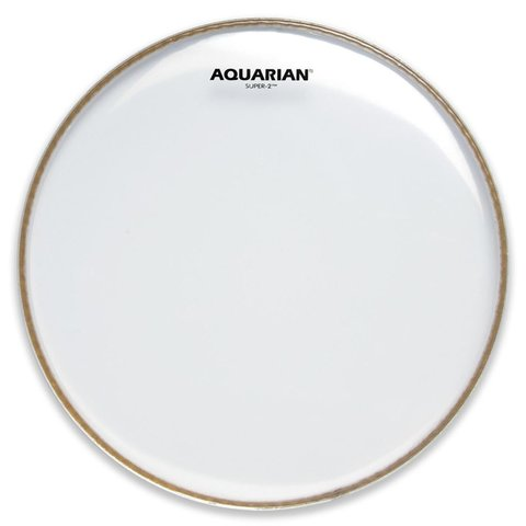 "Aquarian Super-2 Series 18"" (2-Ply) Drumhead"