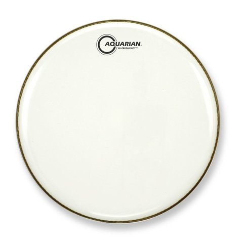 "Aquarian Hi-Frequency Series 16"" Thin Drumhead - White"