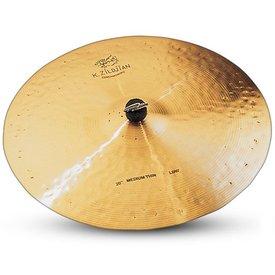 """Zildjian Zildjian K Constantinople 20"""" Medium Thin Ride Low Cymbal"""