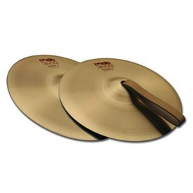 "Paiste Paiste 2002 Classic 06"" Accent Cymbal Pair With Leather Strap"