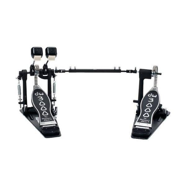 DW DW 3000 Series Double Bass Drum Pedal - Lefty