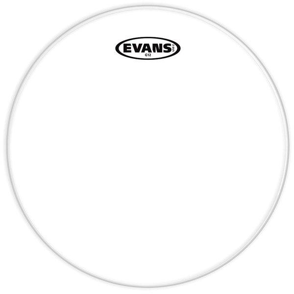 """Evans Evans G12 Clear 10"""" Drumhead"""