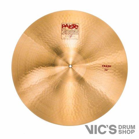 "Paiste 2002 Classic 22"" Crash Cymbal"